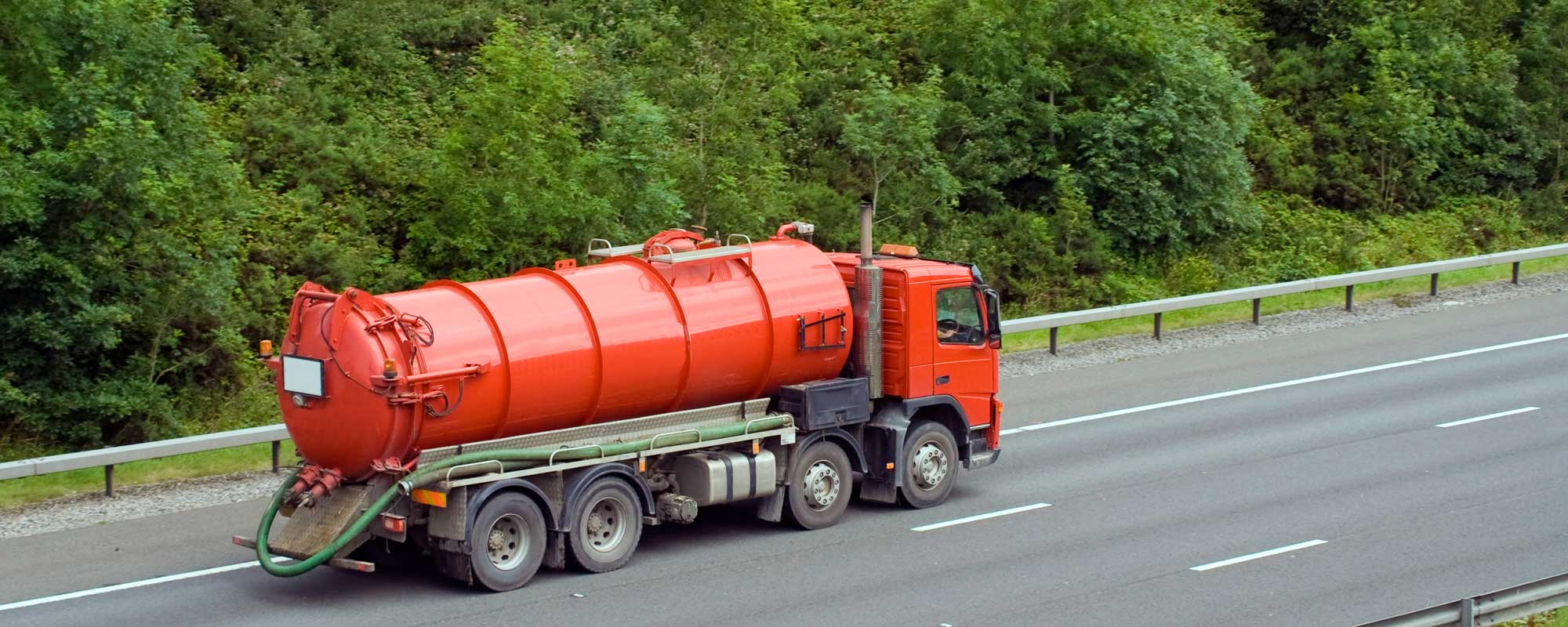 red tanker