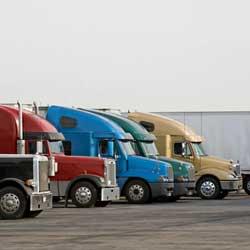 Colorful Semi Trucks
